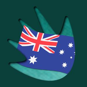 PlayCroco aussie casino australian flag